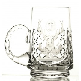 Engraved Crystal Beer Mug 05904