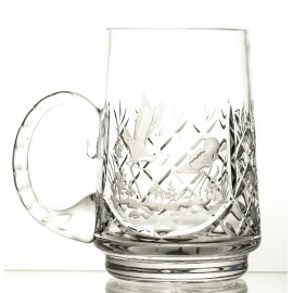 Engraved Crystal Beer Mug 05905