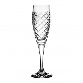 Crystal Champagne Glasses, Set of 6 Caro 10374