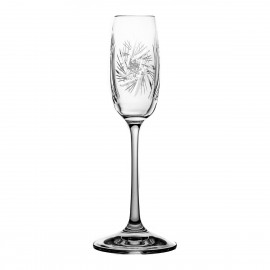 Crystal Liqueur Glasses, Set of 6 3535