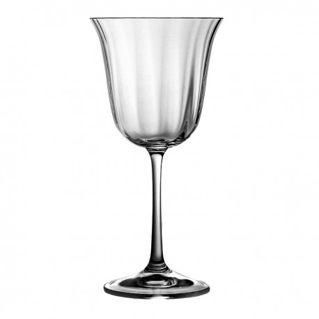 Crystal Red Wine and Water Glasses Set of 6