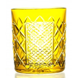 Crystal Painted Whisky Glasses, Set of 6 16183