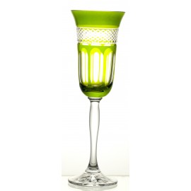 Painted Champagne Glasses, Set of 6 9527