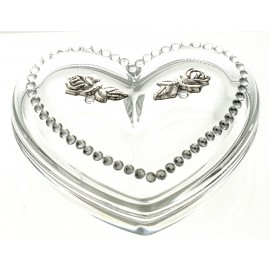 Crystal Heart Box 10894