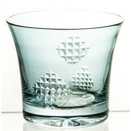 Painted Crystal Glass 10850