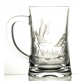 Engraved Crystal Beer Mug 05954