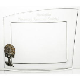 Crystal Frame for First Holy Communion 11540