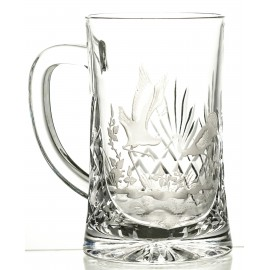 Engraved Crystal Beer Mug 05992