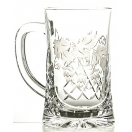 Engraved Crystal Beer Mug 05991