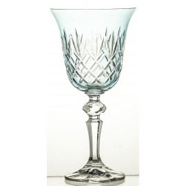Painted Wine Glasses Set of 6