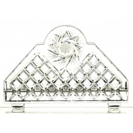 Crystal Napkin Holder 06025