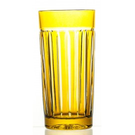 Crystal Painted Long Drink Glasses, Set of 6 (10457)