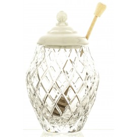 Crystal Honey Jar 11647