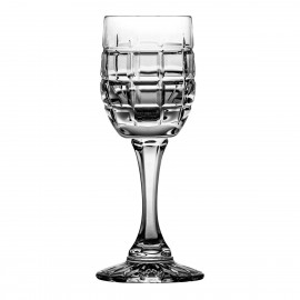 Set of crystal sherry liqueur glasses 6 pcs