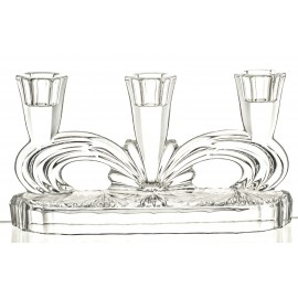 3-Arm Crystal Candlestick (11796)