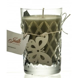 Exclusive Candle in Crystal Candle Holder (02174)