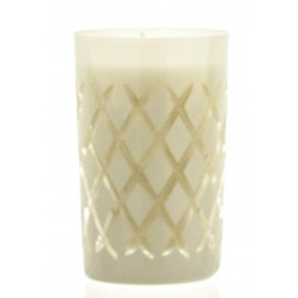 Exclusive Candle in Crystal Candle Holder (02202)