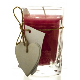 Exclusive Candle in Crystal Candle Holder (10885)