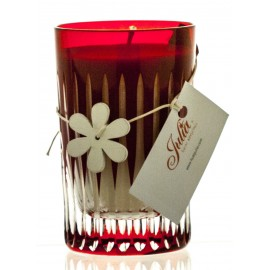 Exclusive Candle in Crystal Candle Holder (02173)