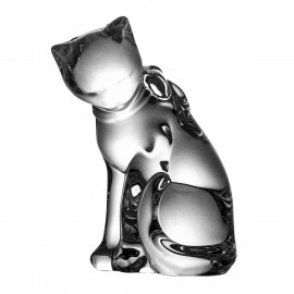 Crystal Cat Paperweight 06023