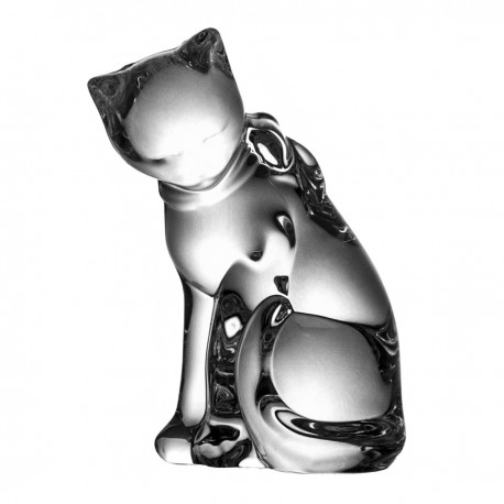 Crystal Cat Paperweight