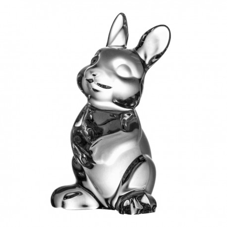 Crystal Hare Paperweight