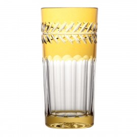 Crystal Painted Long Drink Glasses, Set of 6 10460