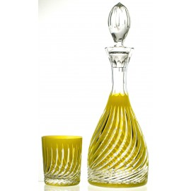 Crystal Decanter and Glasses Set (11113)