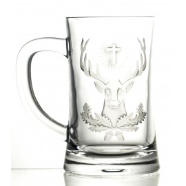 Engraved Crystal Beer Mug (13130)