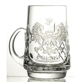 Engraved Crystal Beer Mug (13131)