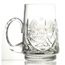 Engraved Crystal Beer Mug (13132)