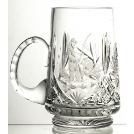 Engraved Crystal Beer Mug (13135)