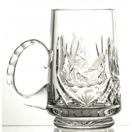 Engraved Crystal Beer Mug (13133)