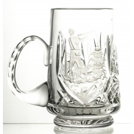 Engraved Crystal Beer Mug (13134)