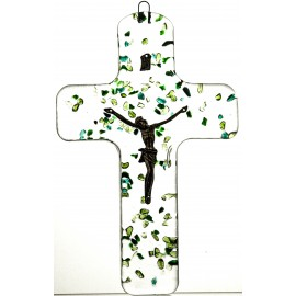 Crystal Wall Cross 4585
